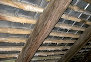 Untreated affected truss